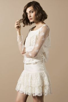 short wedding dresses have been a hot trend recently and they still are and to make sure its enough to look at every designers collection there is one