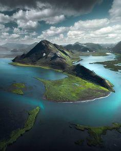 Tundra landscape in Iceland   [1080x1350] by Arnar Kristjansson : EarthPorn