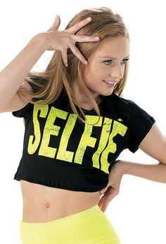 Selfie Cropped Short-Sleeve Tee - Balera