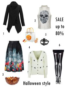 MY  LOVELY   FASHION: Chic Halloween Style