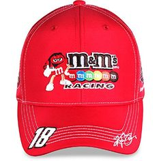 deca87ea6dd NASCAR Adult-Driver Sponsor-Uniform-Adjustable Hat Cap-Kyle Busch
