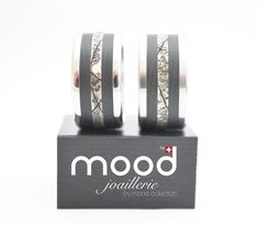 Alliances par mood collection Mood, Or Rose, Rings, Collection, Friendship Rings, Engagements, Wedding Ring, Silver, Ring