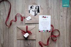 Пригласительные на свадьбу в конвертах
