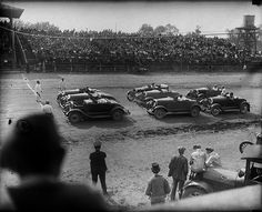 Nascar was started in the 1920's by bootleggers. They tried to see who could race fastest to determine who could outrun the cops the best.
