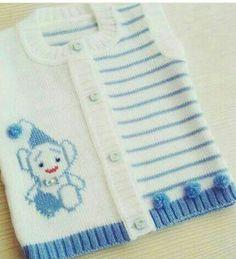 New knitting baby cardigan pattern boys Ideas Baby Boy Vest, Baby Cardigan, Baby Boys, Sweater Knitting Patterns, Cardigan Pattern, Knit Baby Sweaters, Baby Knits, Knitted Baby, Crochet Jacket