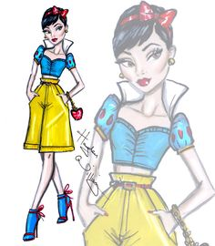 Divas fashionistas da Disney | Just Lia
