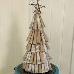 Shimmer Tree | AllFreeHolidayCrafts.com