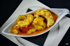 #Tapasconarte #Sevilla: Gambones al curry de Velouté, Pinchos y Tapas