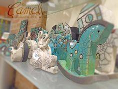 """In #gioielleria ci sono """"strani animali"""" belli e simpatici, realizzati con una speciale ceramica, quale? Venitela a scoprire da #Cameli con un prezzo davvero contenuto  #Cameli #MonteUrano #gioielli"""