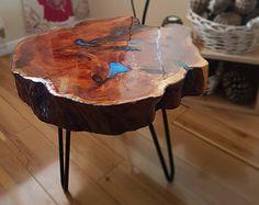 Tavolino da caffè tavolo fatto a mano