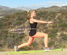 Katie Sunshine's Favorite Hoop Fitness Moves! Muscle Tone, Burn Calories, Fun Workouts, Hoop, Healthy Lifestyle, Sunshine, Exercise, In This Moment, Fitness
