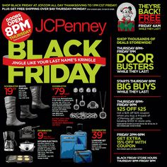 Sneak Peek JCPenney Black Friday Ad 2013