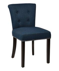 Loving this Klein Azure Kendal Dining Chair on #zulily! #zulilyfinds