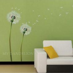 Large Size dandelion DIY Vinyl Wall Stickers Home Decor Art Decals 3D Wallpaper Bedroom Sofa house decoration adesivo de parede //Price: $5.57 & FREE Shipping // http://www.asaitea.com/large-size-dandelion-diy-vinyl-wall-stickers-home-decor-art-decals-3d-wallpaper-bedroom-sofa-house-decoration-adesivo-de-parede/ #pregnancy