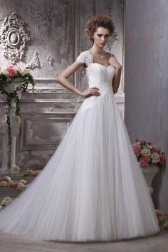 New White Wedding Dresses Sweetheart Princess