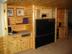 Pole Barn Home's Interior | Man Cave Pole Barn Interiors | Joy Studio Design Gallery - Best Design