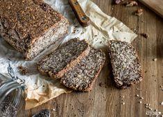 Pohankový semínkový chléb | inspiredkitchen.cz Banana Bread, Breads, Food, Bread Rolls, Essen, Bread, Meals, Braided Pigtails, Buns