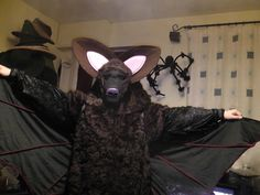 Bat costume by L.S. Day