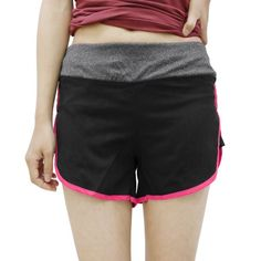 Women Quick Dry Stretchy Gym Yoga Workout Shorts Black Magenta Size S Short Workouts, Gym Workouts, Workout Shorts, Quick Dry, Yoga Fitness, Magenta, Fit Women, Gym Shorts Womens, Workout Plans