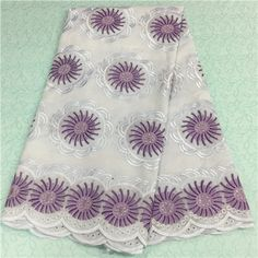 African Embroidery Lace Fabric LKLACE3424-8  https://www.lacekingdom.com/      #embroiderylace