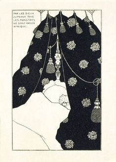 Self-portrait in bed | Beardsley, Aubrey Vincent | V&A Search the Collections