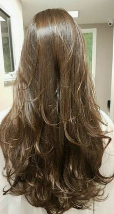 2019 long hair highlights pictures, how to tie long hair highlights - Page 6 of 10 - Dazhimen Haircuts For Long Hair, Long Hair Cuts, Long Hairstyles Cuts, Casual Hairstyles, Beautiful Long Hair, Gorgeous Hair, Long Hair Highlights, Color Highlights, Brown Ombre Hair