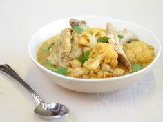 Slow Cooked Curried Chicken with Cauliflower recipe from Food Network Kitchen via Food Network