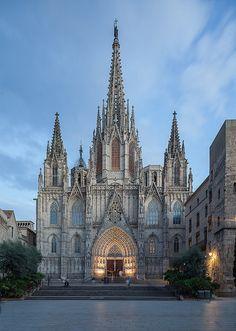 Catedral de Barcelona Catalonia