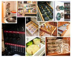 Practical Kitchen Organization -- creamofwheat.com #creamofwheat #kitchen #organization