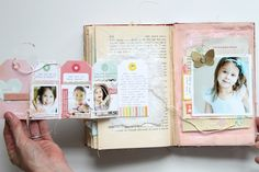 stephanie makes....an old book that's been altered