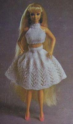 Как связать юбку и кофточку-майку для куклы Барби - http://www.samoshvejka.ru/news/kak_svjazat_jubku_i_koftochku_majku_dlja_kukly_barbi/2011-11-01-53