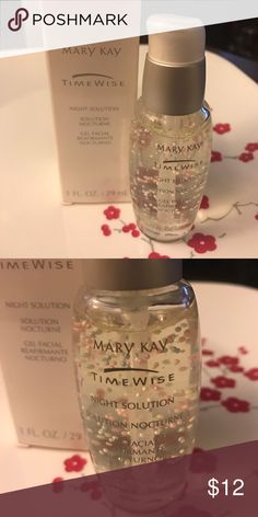 NWOT Mary Kay Timewise Night Solution NWOT Mary Kay Timewise Night Solution Mary Kay Makeup