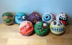Madballs Madballs began as a simple toy line that was designed to capitalize on the gross-out success of Garbage Pail Kids. It evolved into a successful line on its own with multiple series of balls, an animated cartoon, a series of comics, and a PC game. Childhood Toys, Childhood Memories, Toy Packaging, Old School Toys, Garbage Pail Kids, 80s Kids, Oldies But Goodies, I Remember When, Animated Cartoons