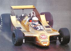 """Jochen Mass in the Arrows A2 """"doodlebug"""" - an early ground effects design from 1979 that required more information to work properly than the designers had available to them at the time. What started as a smooth design with no wings  at the start of the season was modified over he course of the year for a performance improvement that never arrived."""