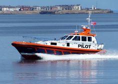 Pilot boat.