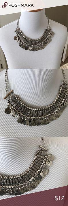 Silver coin necklace Silver coin necklace Jewelry Necklaces
