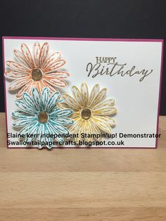 Stampin'up! daisy delight