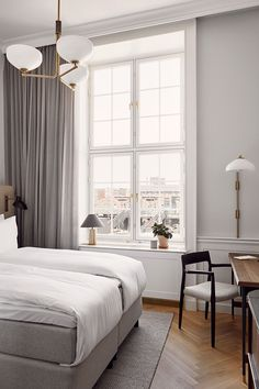 Custom Made Furniture, Furniture Making, Baroque Fashion, Old Buildings, Post Office, Copenhagen, Light Colors, Guest Room, New Homes