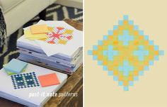 An inspiring math activity that not only develops geometry skills and spatial intelligence, but nurtures creativity and a strong sense of design...