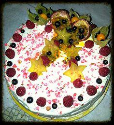 Forêt blanche fruits de la passion-chocolat blanc