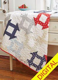 Dutch Dash Quilt Pattern from ShopFonsandPorter.com