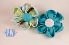 Hey, I found this really awesome Etsy listing at https://www.etsy.com/listing/257960543/teal-dog-flower-green-dog-flower-white