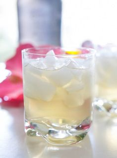 Lush Coconut Cocktail by EclecticRecipes.com #recipe