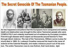 The Secret Genocide Of The Tasmanian People
