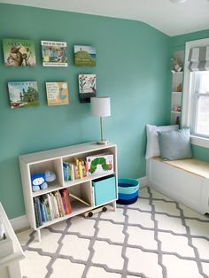 Every nursery needs a perfect place for books!