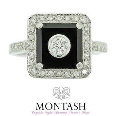 #Onyx forms in bands of different colours especially #black and #white which is used in jewellery. #montashjewellerydesign