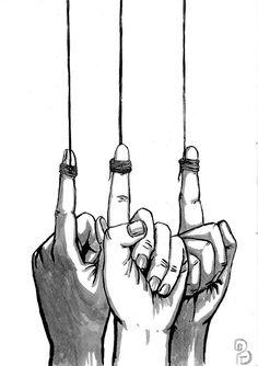 Pablo Barrio Tena: (hu)Manos y cuerdas Ropes, Hands, Art