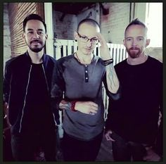 Mike, Chester, and Phoenix - Linkin Park