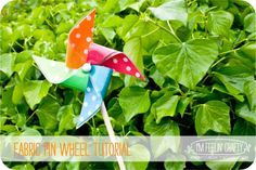 Fabric Pin Wheel Tutorial-Title