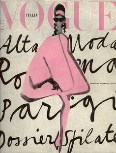 Vintage Vogue Illustration